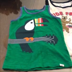 Gap Toucan Tank Top Size 4